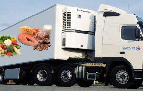 Перевозка скоропортящихся продуктов питания